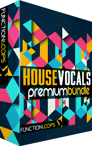 70% off House Vocal Bundle by Function Loops