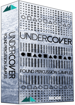 "50% off ""Undercover"" Found Percussion by ModeAudio"