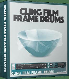 Cling Film Frame Drums