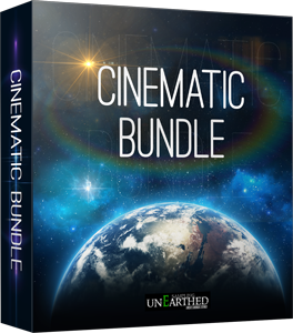 "75% off ""The Cinematic Bundle"" by unEarthed Sampling"