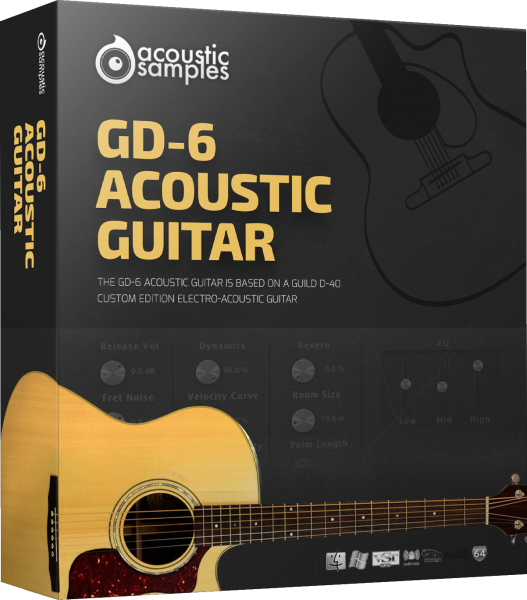 50% off GD-6 Acoustic Guitar by Acoustic Samples