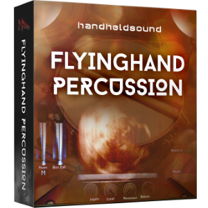 60% off Flying Hand Percussion by Handheld Sound