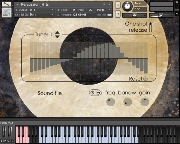 Percussion Hits Interface 600x600