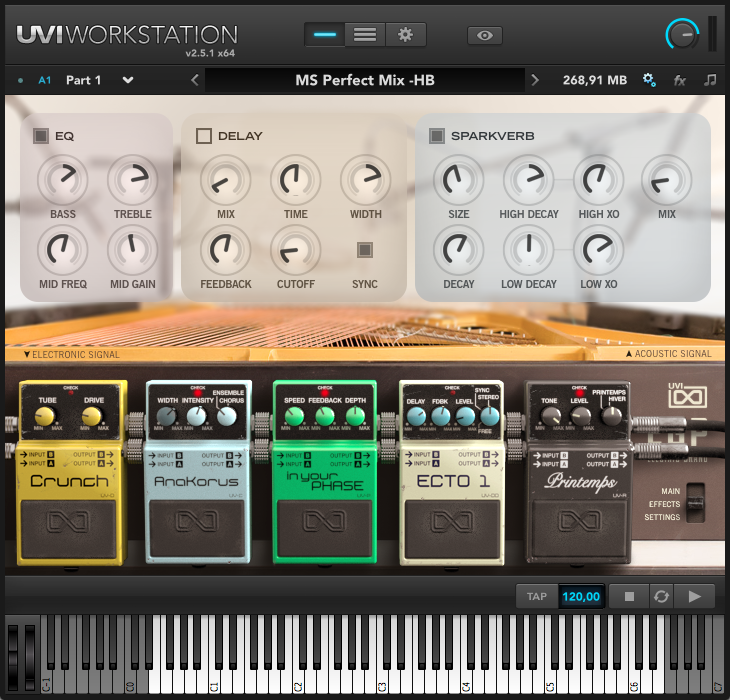 65% off Hybrid Electric Grand Piano by UVI