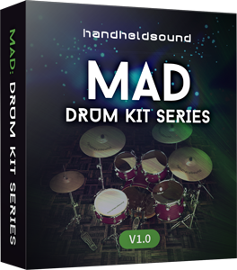 "60% off ""MAD Drums"" by Handheld Sound"