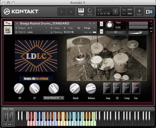 Booga+Rocket+Drums_Kontakt+GUI