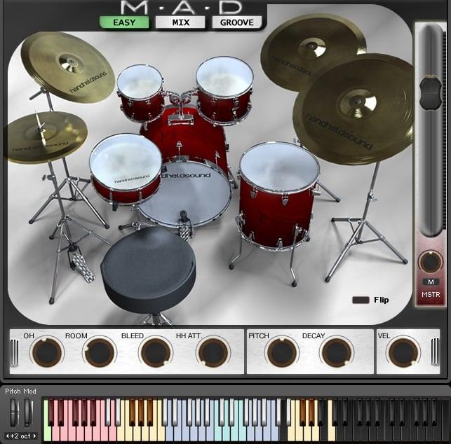 60 off mad drums by handheld sound. Black Bedroom Furniture Sets. Home Design Ideas