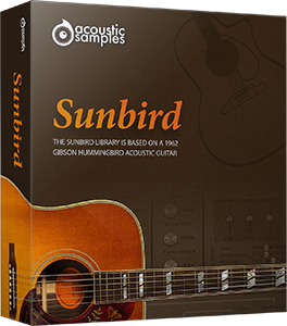 "50% off ""Sunbird"" Acoustic Guitar by Acoustic Samples"