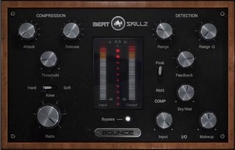 "50% off ""Bounce"" Compressor Plugin by BeatSkillz"