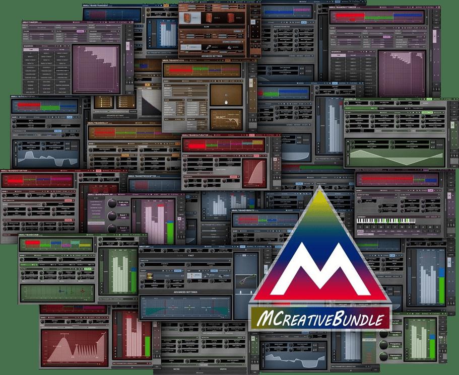 "50% off ""MCreativeBundle"" by Melda Production"