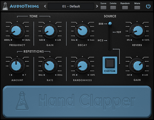 "60% off ""Hand Clapper"" by AudioThing"