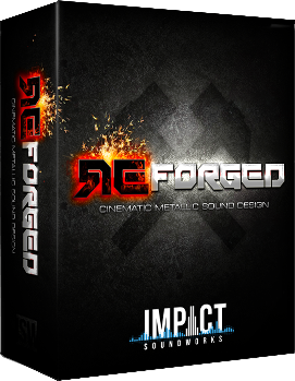 """65% off """"ReForged"""" by Impact Soundworks"""