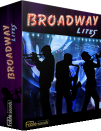 """77% off """"Broadway Lites"""" by Fable Sounds"""