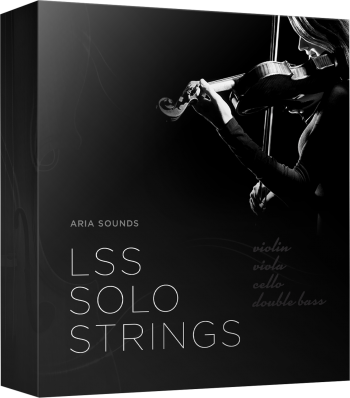 "75% off ""LSS Solo Strings Bundle"" by Aria Sounds"