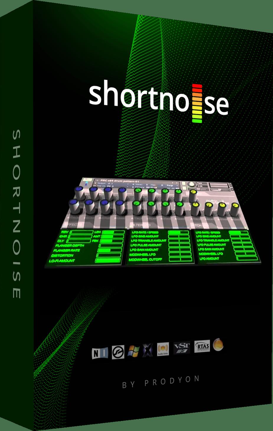 Shortnoise - Free 6GB Electronic Sample Library