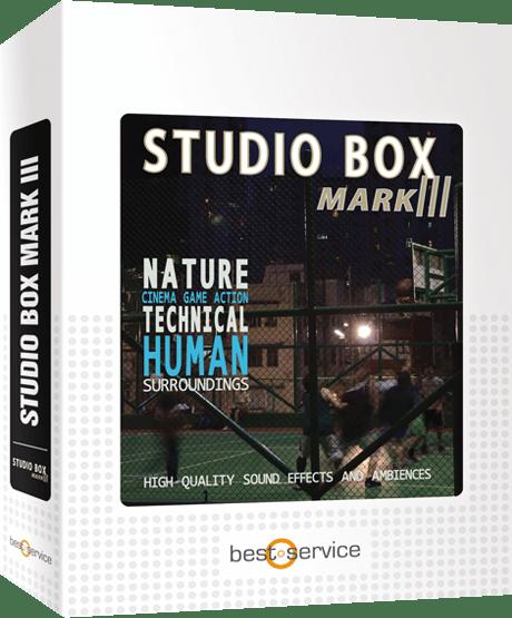 "75% off ""Studio Box Mark III"" by Best Service"