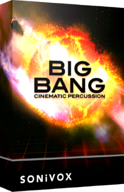 "75% off ""Big Bang Percussion 2"" by SONiVOX"