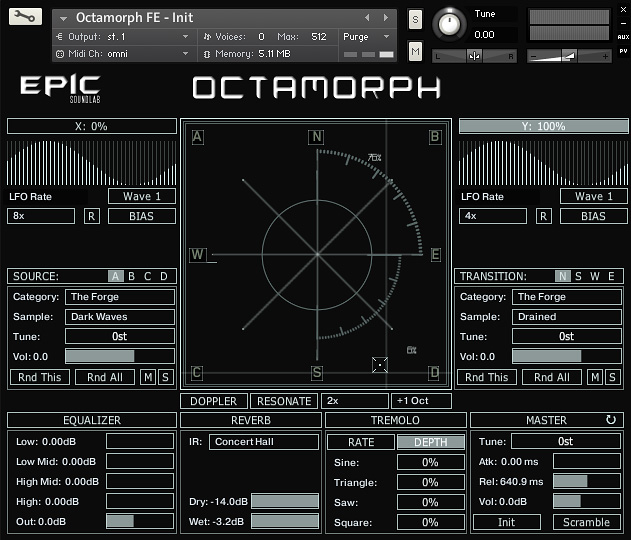 "82% off ""Octamorph FE"" by Epic SoundLab"