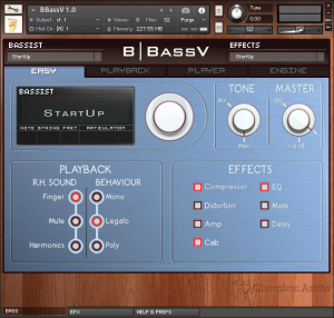 BBass Kontakt Interface