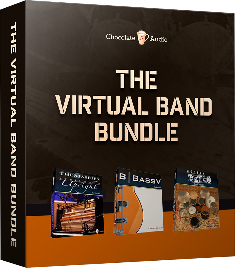 "70% off ""The Virtual Band Bundle"" by Chocolate Audio"
