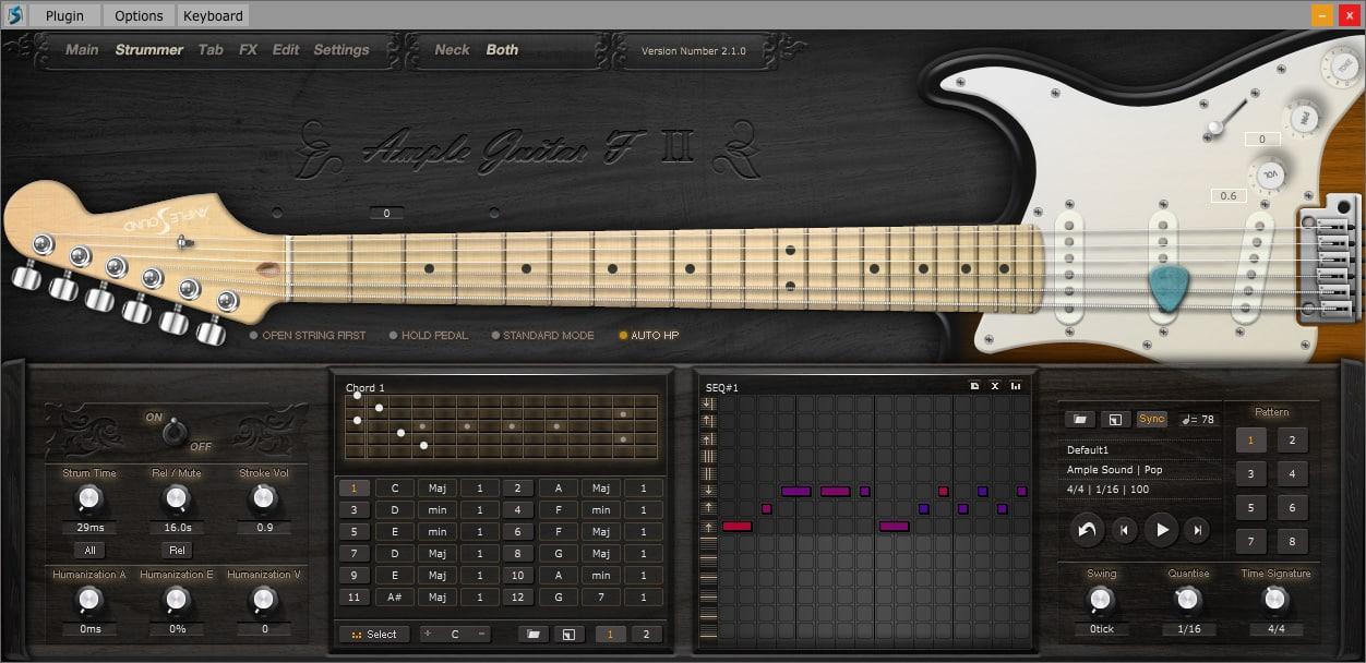 Realistic Electric Guitar Vst Free : 55 off f ii guitar by ample sound ~ Vivirlamusica.com Haus und Dekorationen