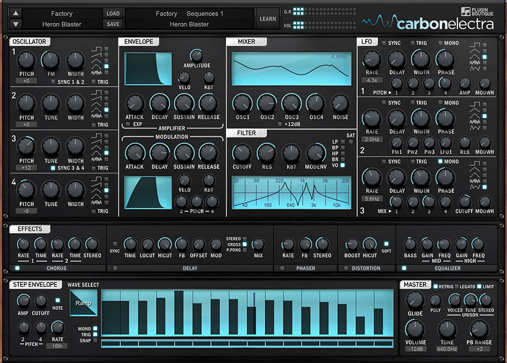 "60% off ""Carbon Electra Synth"" (VST/AU) by Plugin Boutique"