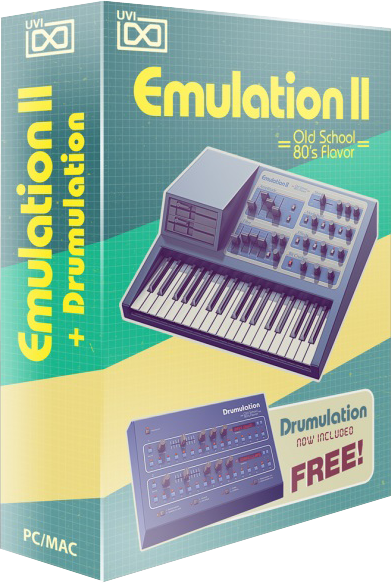 "67% off ""Emulation II"" by UVI (VST/AU/AAX)"