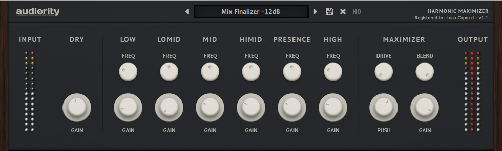 "78% off ""Harmonic Maximizer"" by Audiority (VST/AU/AAX)"