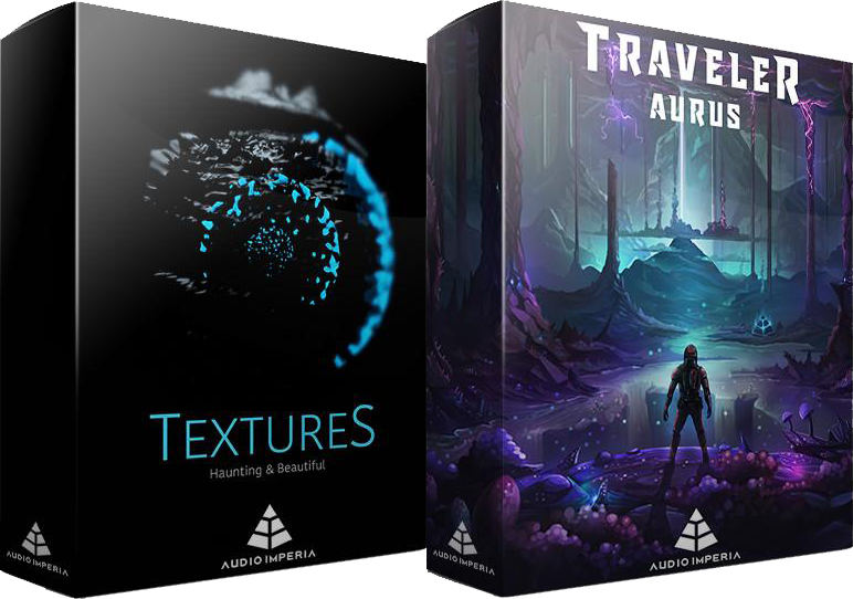 "60% off ""Textures & Traveler Aurus Bundle"" by Audio Imperia"
