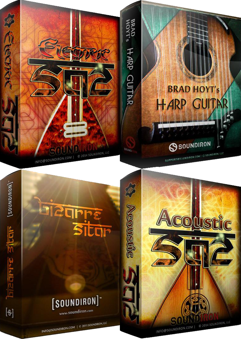 """75% off the """"The Exotic Strings Bundle"""" by Soundiron"""