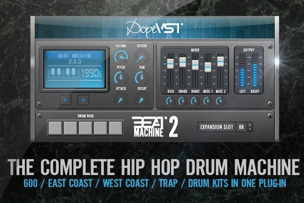 """50% off """"Beat Machine 2"""" by DopeVST (VST/AU)"""