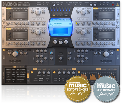 "62% off ""Diversion"" Synthesizer by Dmitry Sches (VST/AU)"