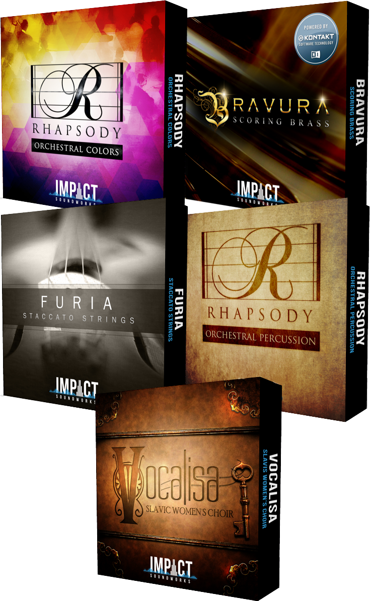 "83% off ""The Orchestral Bundle"" by Impact Soundworks"