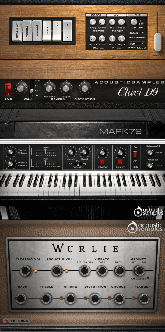 "63% off ""The Keyboard Bundle"" by Acoustic Samples (VST/AU/RTAS/AAX)"
