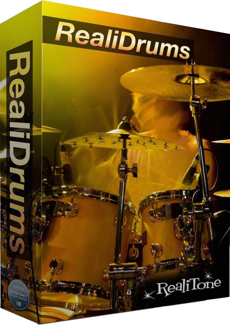 """70% off """"RealiDrums"""" by Realitone (Kontakt Player)"""