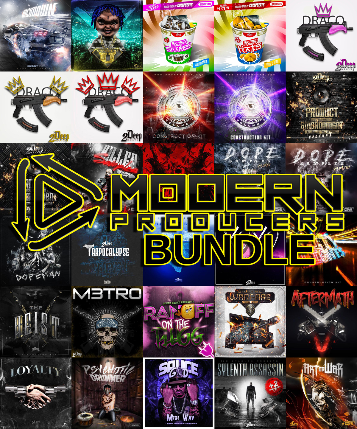 "96% off ""The Modern Producers Bundle"""