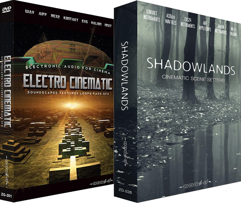 "65% off ""Electro Cinematic & Shadowlands"" Bundle by Zero G"