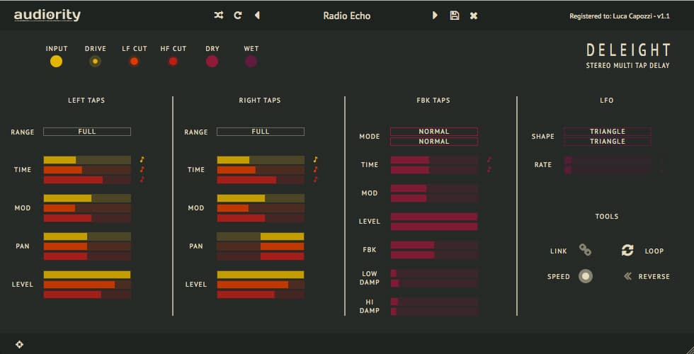 "71% off ""Deleight"" by Audiority (VST/AU/AAX)"
