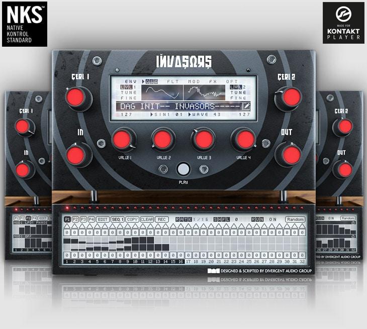 "70% off ""Invasors"" by Divergent Audio Group (Kontakt Player)"