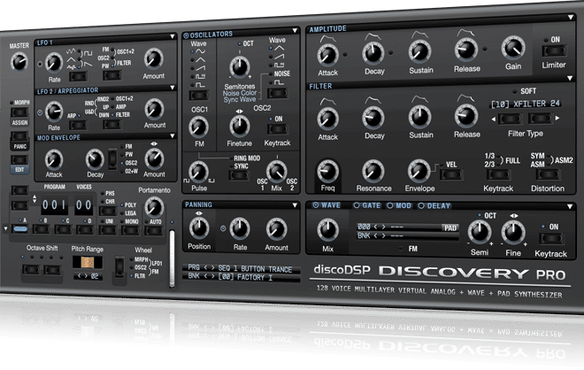 "55% off ""Discovery Pro Synth"" by DiscoDSP"