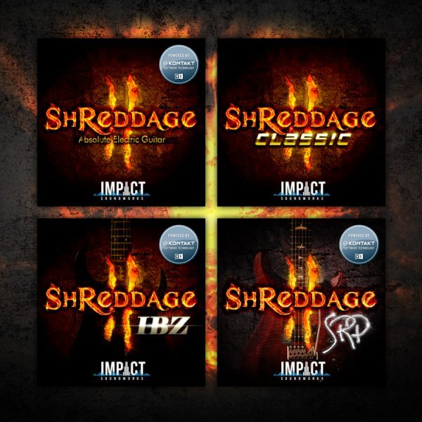 "78% off ""Shreddage Bundle"" by Impact Soundworks"