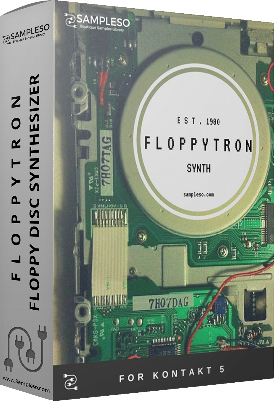 77% off 'Floppytron Synth' by Sampleso