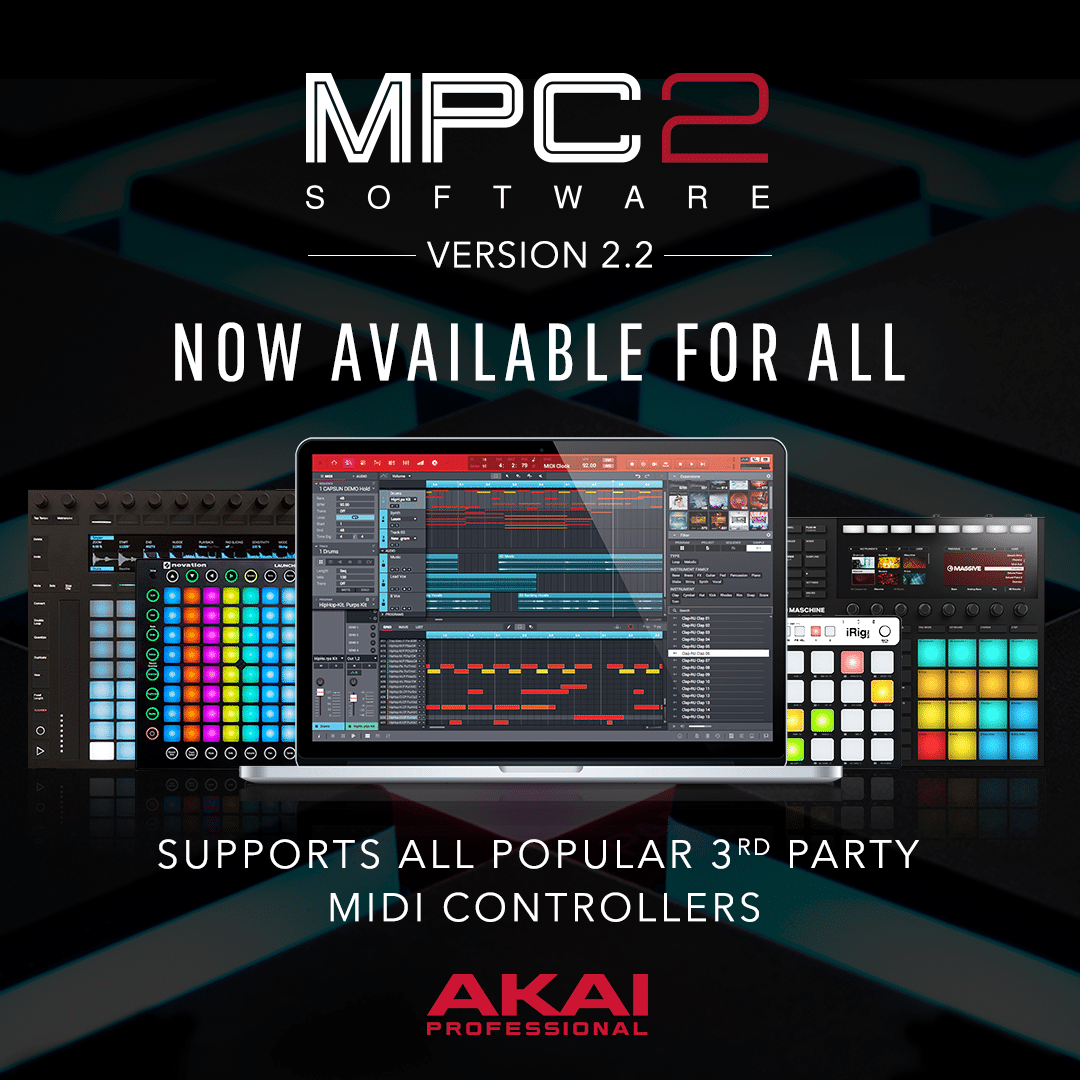 """MPC 2.0 Special Edition Bundle"" by Akai Pro"