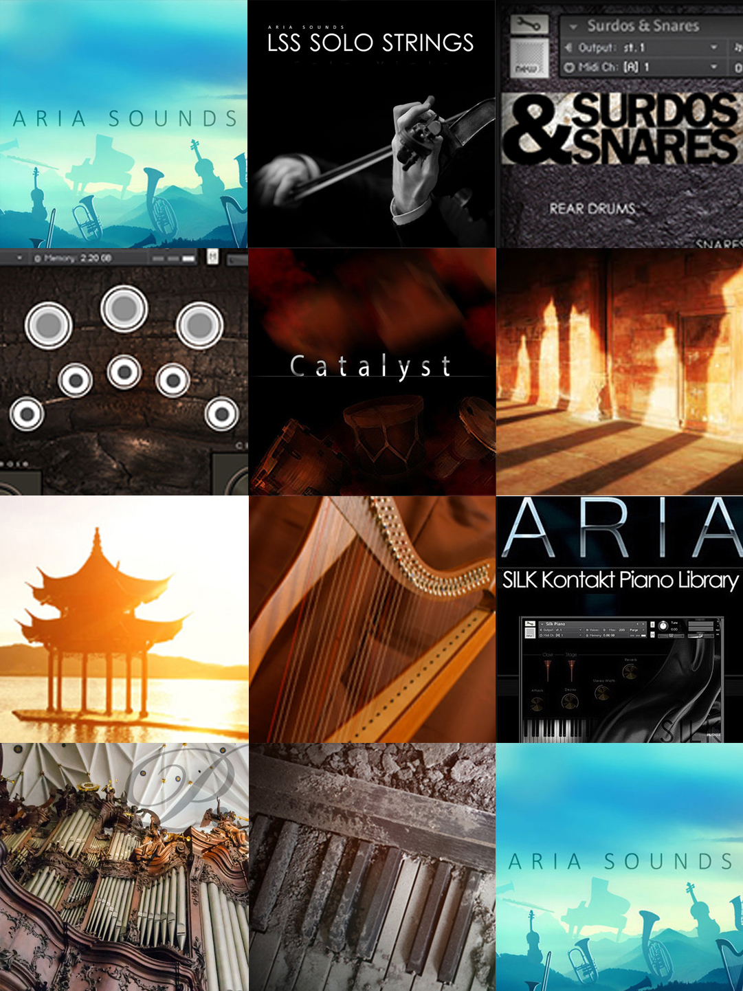 "90% off ""The Orchestral Bundle"" by Aria Sounds"