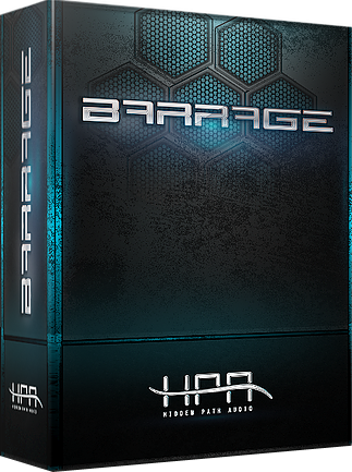 "70% off ""Barrage"" by Hidden Path Audio"