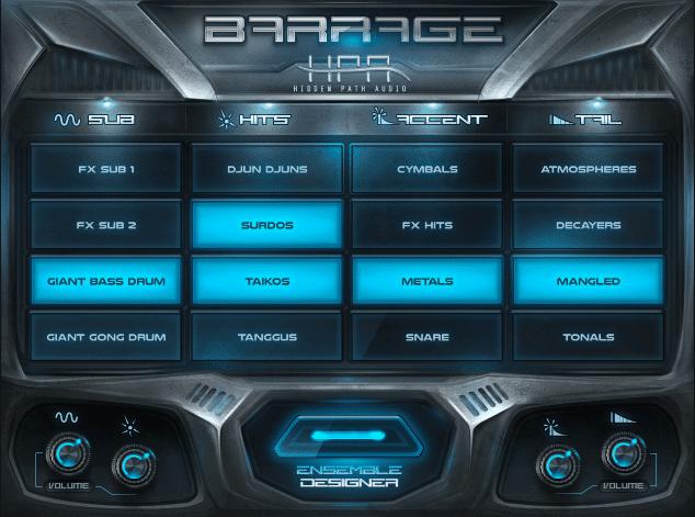 "70% off ""Barrage"" by Hidden Path Audio"