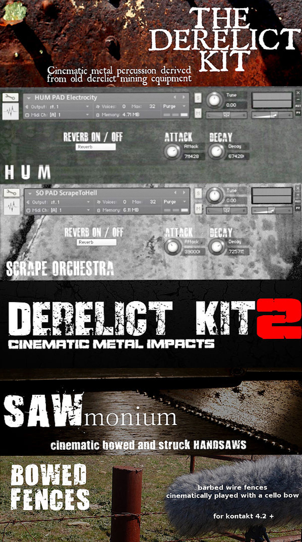 "70% off ""Apocalypse Bundle"" by unEarthed Sampling for Kontakt"