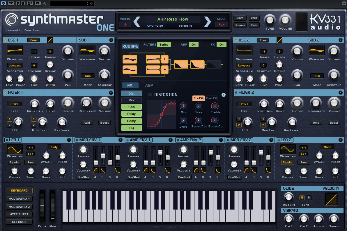 "50% off ""SynthMaster One"" by KV331 Audio"