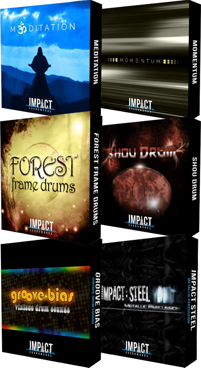 "71% off ""Drums & Percussion Bundle"" by Impact Soundworks"