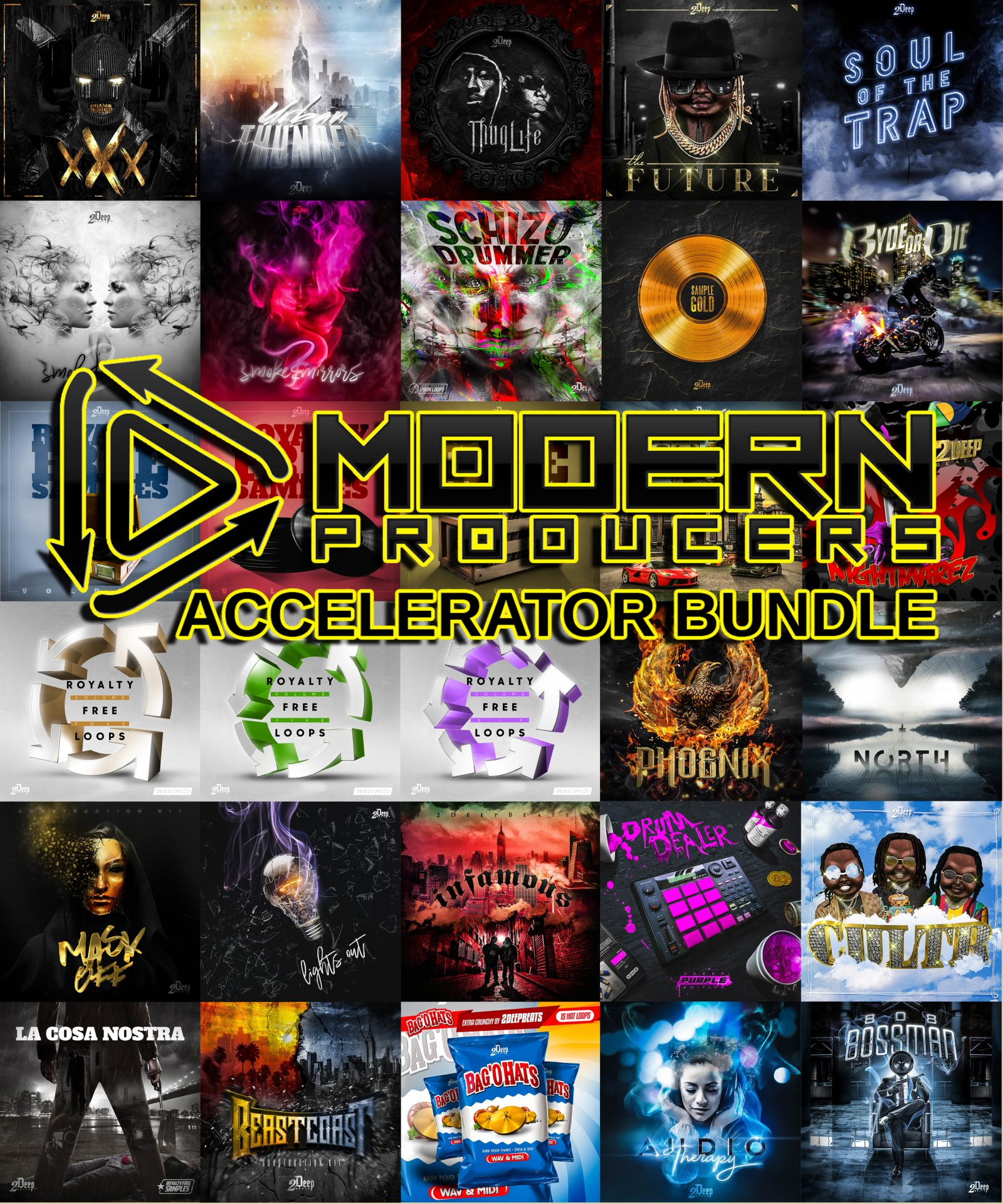 "96% off ""Accelerator Bundle"" by Modern Producers"